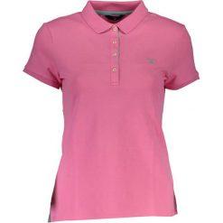 Bluzki damskie: Koszulka polo w kolorze różowym
