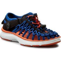 Sandały KEEN - Uneek 02 1015506 True Blue/Kol. Niebieskie sandały męskie skórzane Keen. W wyprzedaży za 169,00 zł.