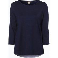 Esprit Casual - Koszulka damska, niebieski. Niebieskie t-shirty damskie Esprit Casual, xs, z kontrastowym kołnierzykiem. Za 99,95 zł.