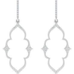 Kolczyki damskie: Złote kolczyki z diamentem