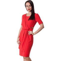 Sukienki hiszpanki: Sukienka w kolorze czerwonym