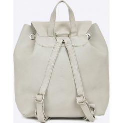 Answear - Plecak Garden of Dreams. Szare plecaki damskie marki ANSWEAR, ze skóry ekologicznej. W wyprzedaży za 89,90 zł.