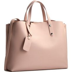 Torebka CREOLE - K10220 Różowy. Czerwone torebki klasyczne damskie Creole, ze skóry. W wyprzedaży za 219,00 zł.