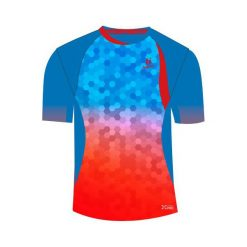 T-shirty chłopięce: Huari Croke junior t-shirt french blue/fiery red r. 146