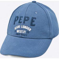 Pepe Jeans - Czapka Arsenal. Szare czapki z daszkiem męskie Pepe Jeans, z bawełny. Za 99,90 zł.