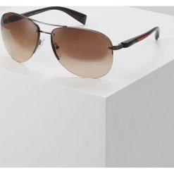 Okulary przeciwsłoneczne męskie: Prada Linea Rossa Okulary przeciwsłoneczne gunmetal