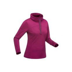Koszulka turystyczna długi rękaw SH100 warm damska. Czarne t-shirty damskie marki Mohito, l. Za 39,99 zł.