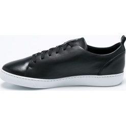 Gino Rossi - Buty Tiziano. Czarne buty sportowe męskie marki Gino Rossi, z materiału, na sznurówki. W wyprzedaży za 199,90 zł.