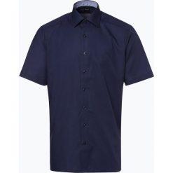 OLYMP Luxor modern Fit - Koszula męska niewymagająca prasowania, niebieski. Niebieskie koszule męskie non-iron marki OLYMP Luxor modern Fit, m, w kratkę, z materiału. Za 149,95 zł.