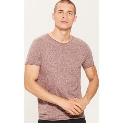 T-shirt basic - Bordowy. Czerwone t-shirty męskie marki House, l. Za 35,99 zł.