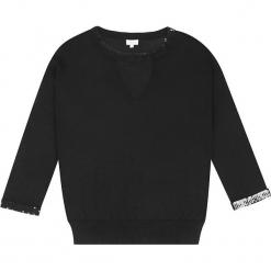Sweter jedwabny w kolorze czarnym. Czarne swetry klasyczne damskie marki Ateliers de la Maille, z jedwabiu, z okrągłym kołnierzem. W wyprzedaży za 318,95 zł.