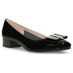 Czółenka MIHO. Czarne buty ślubne damskie marki Gino Rossi, z lakierowanej skóry. Za 289,90 zł.