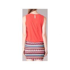 Sukienki krótkie Moony Mood  IEVELI. Czerwone sukienki mini marki Moony Mood, l, z krótkim rękawem. Za 129,00 zł.