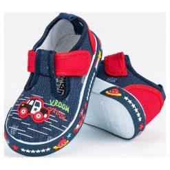 Buty dziecięce: Granatowe trampki  AMERICAN CLUB niebieskie