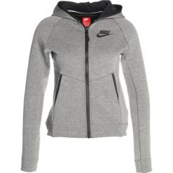 Nike Performance HOODIE Bluza rozpinana carbon heather/black/black. Szare bluzy dziewczęce rozpinane marki Nike Performance, z bawełny. W wyprzedaży za 258,30 zł.