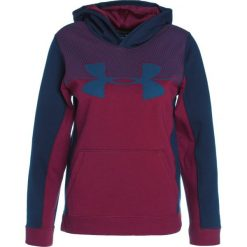 Bejsbolówki męskie: Under Armour BLOCKED Bluza z kapturem black currant