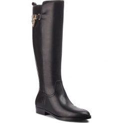 Oficerki GUESS - FLDGT4 LEA11 BLACK. Niebieskie buty zimowe damskie marki Guess, z materiału. Za 859,00 zł.