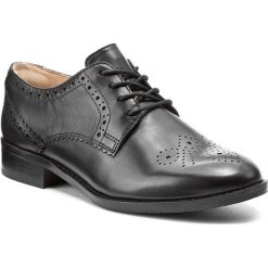 Creepersy damskie: Oxfordy CLARKS - Netley Rose 261285214 Black Leather