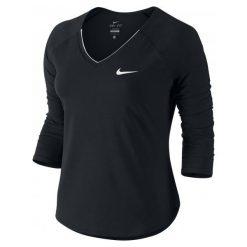 Nike Koszulka Tenisowa W Nkct Top Pure 3qt M. Czarne bluzki sportowe damskie marki Nike, m. W wyprzedaży za 179,00 zł.