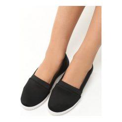 Buty ślubne damskie: Czarne Tenisówki na Koturnie Moses