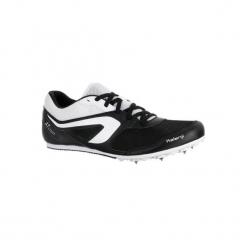 Buty do biegania AT START. Czarne buty do biegania męskie marki KALENJI, z gumy. W wyprzedaży za 119,99 zł.