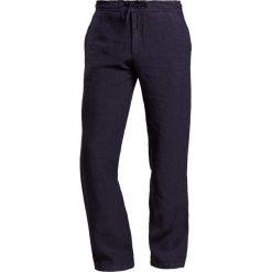 Chinosy męskie: 120% Lino PANTALONE UOMO Spodnie materiałowe graphite