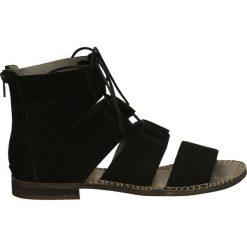 Rzymianki damskie: Sandały - A147 SER BLAC