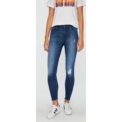 Only - Jeansy. Niebieskie jeansy damskie rurki ONLY, z bawełny. W wyprzedaży za 149,90 zł.
