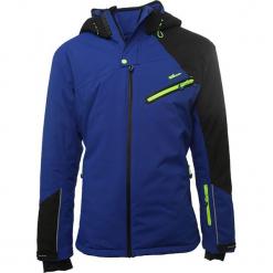 Kurtka narciarska w kolorze niebieskim. Niebieskie kurtki narciarskie męskie marki Peak Mountain, m, z materiału. W wyprzedaży za 406,95 zł.