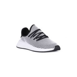 Buty do biegania adidas  DEERUPT RUNNER. Czarne buty do biegania damskie marki Adidas, z kauczuku. Za 463,46 zł.