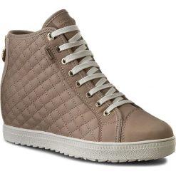 Sneakersy GEOX - D Amaran.H.B Abx A D62L2A 00085 C6738 Lt Taupe. Szare sneakersy damskie marki Geox, z gumy. W wyprzedaży za 279,00 zł.