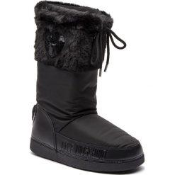 Śniegowce LOVE MOSCHINO - JA24062G06JM0000  Nero. Czarne buty zimowe damskie marki Love Moschino, z materiału. Za 659,00 zł.