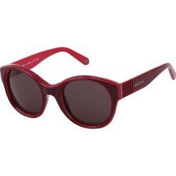"""Okulary przeciwsłoneczne """"SR771203"""" w kolorze bordowym. Brązowe okulary przeciwsłoneczne damskie marki Triwa, z tworzywa sztucznego. W wyprzedaży za 219,95 zł."""