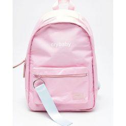 Plecak z brelokiem - Różowy. Czerwone plecaki damskie marki Cropp. W wyprzedaży za 39,99 zł.