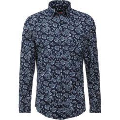 Koszule męskie na spinki: Seidensticker COVERED BUTTON DOWN Koszula darkblue/darkrgreen