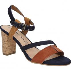 SANDAŁY TAMARIS 1-28350-26. Brązowe sandały damskie Tamaris. Za 149,99 zł.