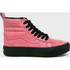 Vans - Trampki. Różowe trampki i tenisówki damskie Vans, z gumy. Za 459,90 zł.