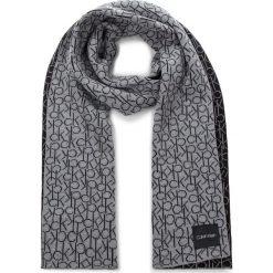 Szal CALVIN KLEIN - Ck Knitted Scarf W K60K604721 013. Czarne szaliki damskie marki Calvin Klein, z bawełny. Za 279,00 zł.