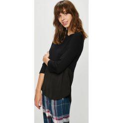 Dkny - Bluzka piżamowa. Szare koszule nocne i halki marki DKNY, l, z elastanu. W wyprzedaży za 199,90 zł.