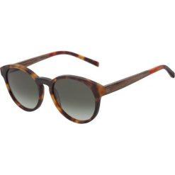Okulary przeciwsłoneczne męskie: Kerbholz LEOPOLD Okulary przeciwsłoneczne light havanna/gradient green