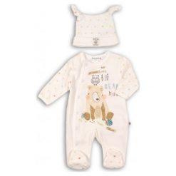 Minoti Dziecięcy Kombinezon Z Czapeczką Big Bear 62 - 68 Beżowy. Brązowe czapeczki niemowlęce marki MINOTI. Za 59,00 zł.
