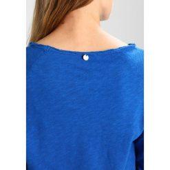Bluzki asymetryczne: Rich & Royal HEAVY LONGSLEEVE Bluzka z długim rękawem royal blue