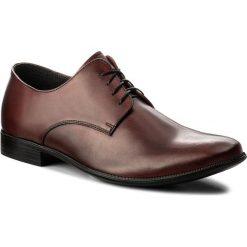 Półbuty SERGIO BARDI - Bistagno SS127348418PL 134. Czerwone buty wizytowe męskie Sergio Bardi, z materiału. W wyprzedaży za 169,00 zł.