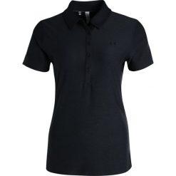 Under Armour ZINGER Koszulka sportowa black. Czarne topy sportowe damskie marki Under Armour, m, z elastanu, polo. W wyprzedaży za 146,30 zł.