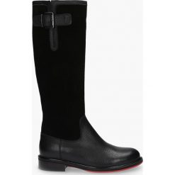 Kozaki czarne Kanizja. Czarne buty zimowe damskie Badura. Za 399,99 zł.