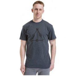 T-shirty męskie z nadrukiem: Nugget T-Shirt Męski Wired M Szary