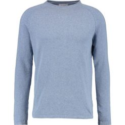 Swetry klasyczne męskie: Springfield FINE Sweter blues