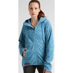 Bergans HAREID Kurtka z polaru glacier melange. Niebieskie kurtki sportowe damskie Bergans, xs, z materiału. W wyprzedaży za 335,20 zł.