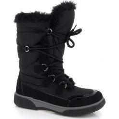 """Buty zimowe damskie: Kozaki """"Paloma"""" w kolorze czarnym"""