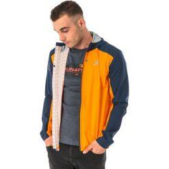 Odzież sportowa męska: Salomon Kurtka męska Bonatti WP Turmeric granatowo-pomarańczowa r. L (396951)